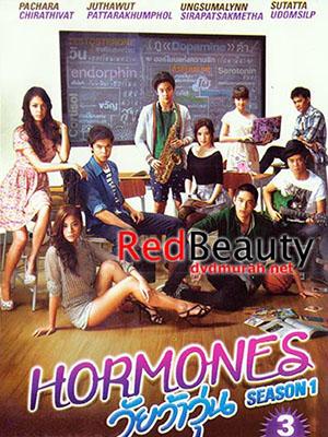 Tuổi Nổi Loạn 3 Hormones Season 3.Diễn Viên: Pachara Chirathivat,Ungsumalynn Sirapatsakmetha,Sutatta Uudomsilp