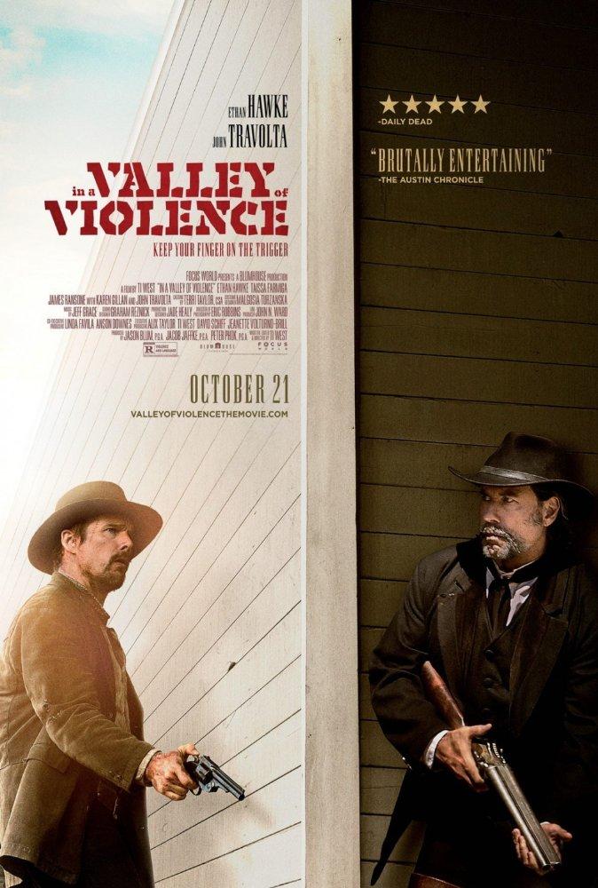 Thung Lũng Của Bạo Lực In A Valley Of Violence.Diễn Viên: Ethan Hawke,John Travolta,Taissa Farmiga