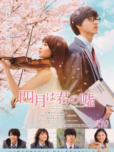 Tháng Tư Là Lời Nói Dối Của Em - Your Lie In April: Shigatsu Wa Kimi No Uso