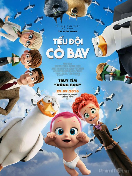Tiểu Đội Cò Bay Storks.Diễn Viên: Susan Sarandon,Jessica Biel,Patrick Stewart