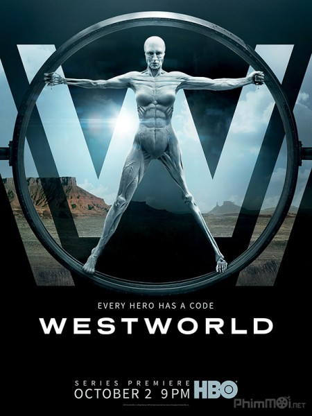 Thế Giới Viễn Tây Phần 1 Westworld Season 1.Diễn Viên: Ed Harris,James Marsden,Thandie Newton,Talulah Riley