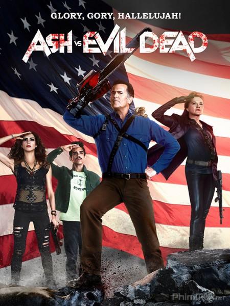 Ash Và Ma Cây Phần 2 Ash Vs Evil Dead Season 2.Diễn Viên: Matthew Perry,Thomas Lennon,Lindsay Sloane