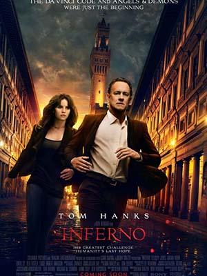 Hoả Ngục Inferno.Diễn Viên: Tom Hanks,Felicity Jones,Irrfan Khan