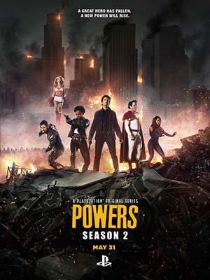 Sức Mạnh Tối Thượng Phần 2 Powers Season 2.Diễn Viên: Sharlto Copley,Susan Heyward,Noah Taylor