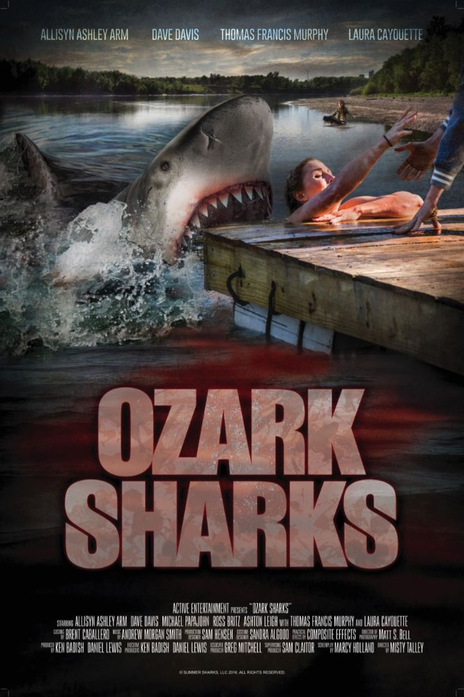 Cá Mập Nước Ngọt Ozark Sharks.Diễn Viên: Becky Andrews,Chris Angerdina,Allisyn Ashley Arm
