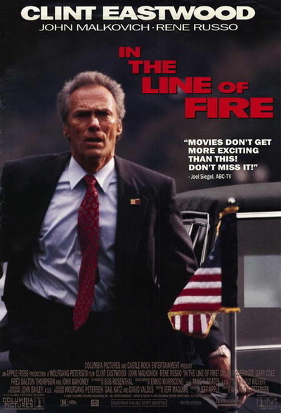 Trước Họng Súng In The Line Of Fire.Diễn Viên: Clint Eastwood,John Malkovich,Rene Russo,Dylan Mcdermott,Gary Cole,Fred Dalton Thompson