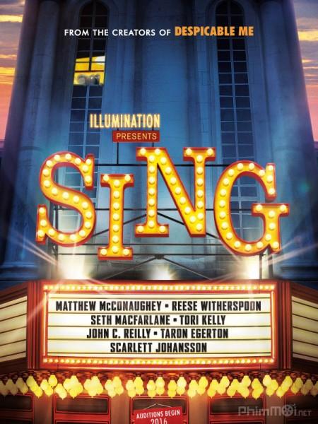 Đấu Trường Âm Nhạc Sing.Diễn Viên: Matthew Mcconaughey,Reese Witherspoon,Seth Macfarlane