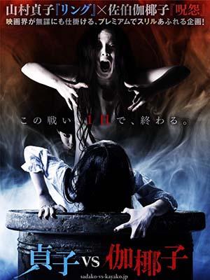 Ma Nữ Đại Chiến Sadako V Kayako: The Ring Vs Ju-On.Diễn Viên: Mizuki Yamamoto,Tina Tamashiro,Aimi Satsukawa