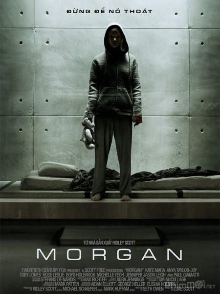 Phòng Thí Nghiệm Bí Mật Người Nhân Tạo: Morgan.Diễn Viên: Robert Powell