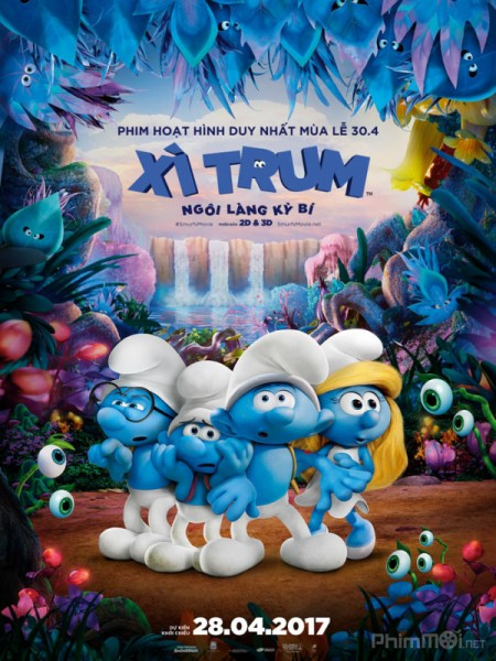 Xì Trum: Ngôi Làng Kì Bí Smurfs: The Lost Village.Diễn Viên: Jack Angel,Fred Armisen,Hank Azaria