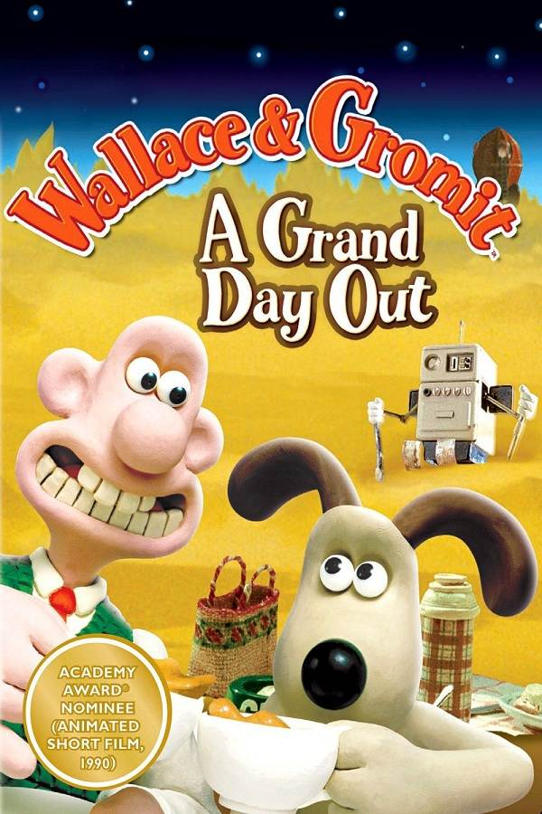Wallace Và Gromit: Kỳ Nghỉ Ở Mặt Trăng A Grand Day Out With Wallace And Gromit.Diễn Viên: Peter Sallis,Helena Bonham Carter And Ralph Fiennes