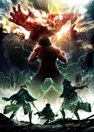 Attack On Titans Session 2 - Shingeki No Kyojin Season 2