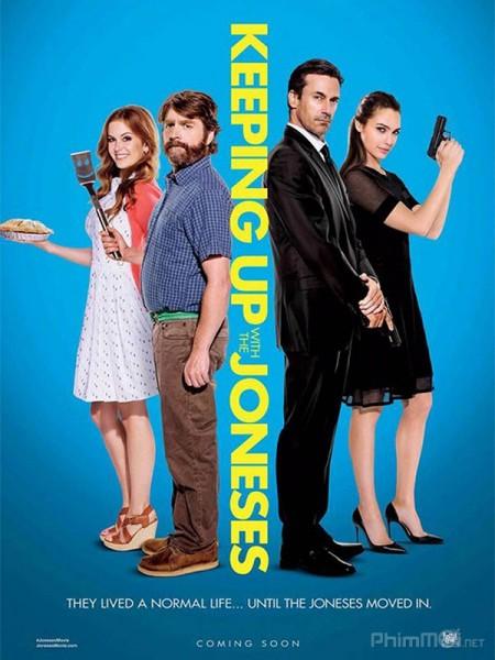 Hàng Xóm Tôi Là Đặc Vụ Keeping Up With The Joneses.Diễn Viên: Gemma Arterton,Martin Compston,Eddie Marsan
