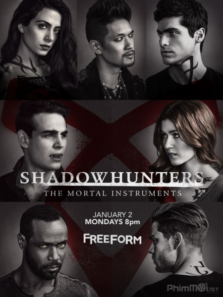 Thợ Săn Bóng Đêm Phần 2 Shadowhunters: The Mortal Instruments Season 2.Diễn Viên: Alexandra Lamy,Stéphane Rousseau,Bérénice Bejo