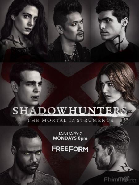 Thợ Săn Bóng Đêm Phần 2 Shadowhunters: The Mortal Instruments Season 2.Diễn Viên: Katherine Mcnamara,Dominic Sherwood,Alberto Rosende,Emeraude Toubia