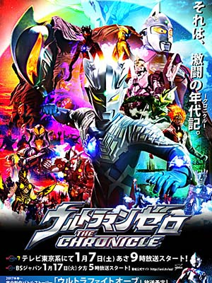 Ultraman Zero The Chronicle.Diễn Viên: Marg Helgenberger,Val Kilmer,Wilmer Valderrama