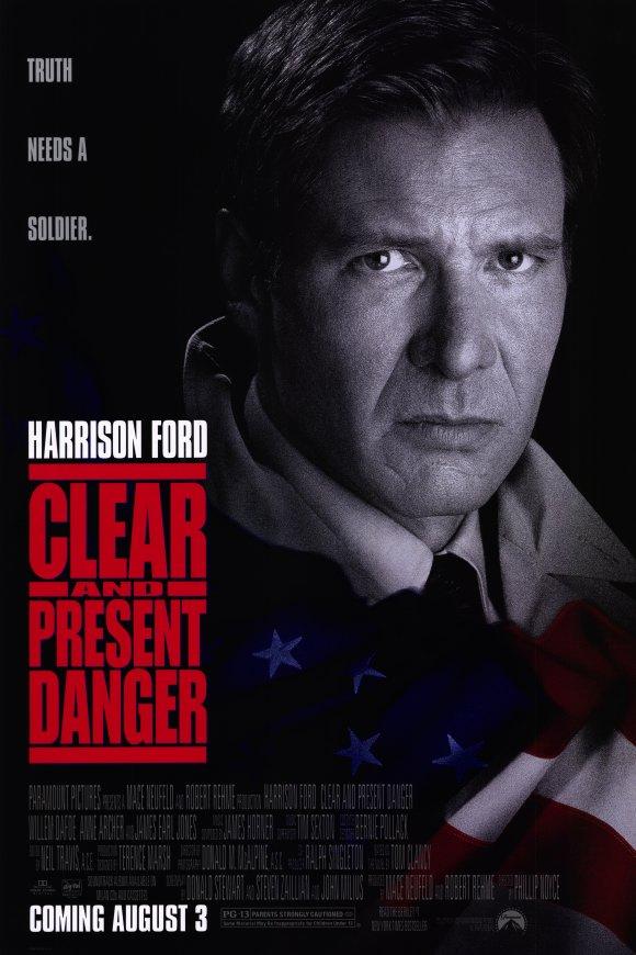 Hiểm Họa Hiện Hữu Clear And Present Danger.Diễn Viên: Harrison Ford,Willem Dafoe,Anne Archer
