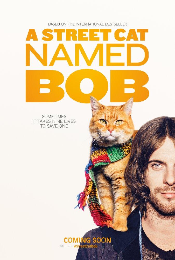 Chú Mèo Đường Phố Tên Bob A Street Cat Named Bob.Diễn Viên: Luke Treadaway,Bob The Cat,Ruta Gedmintas