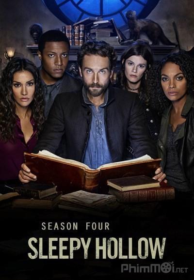 Kỵ Sĩ Không Đầu Phần 4 Sleepy Hollow Season 4.Diễn Viên: Johnny Depp,Christina Ricci,Miranda Richardson,Michael Gambon,Casper Van Dien,Jeffrey Jones