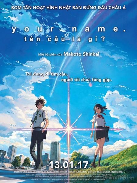 Câu Chuyện Về Phép Màu Và Tình Yêu Your Name: Kimi No Na Wa.Diễn Viên: Toshiyuki Nishida,Tetsuji Tamayama,Umika Kawashima,Kimiko Yo,Yôichi Nukumizu