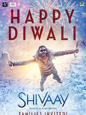 Cuộc Chiến Gia Tộc Shivaay.Diễn Viên: Ajay Devgn,Erika Kaar,Saurabh Shukla