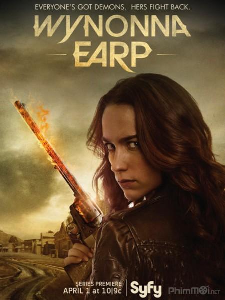 Quý Cô Diệt Quỷ Phần 1 Wynonna Earp Season 1.Diễn Viên: Hayley Atwell,Eddie Cahill,Shawn Ashmore