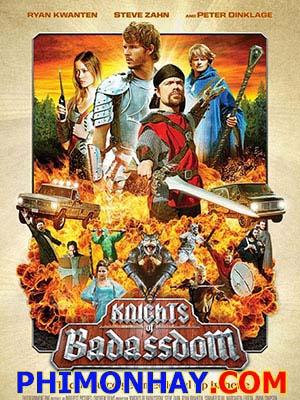 Hiệp Sĩ Vương Quốc Bá Đạo - Knights Of Badassdom Việt Sub (2013)