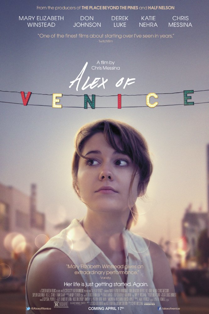 Thay Đổi Cuộc Đời Alex Of Venice.Diễn Viên: Mary Elizabeth Winstead,Chris Messina,Don Johnson