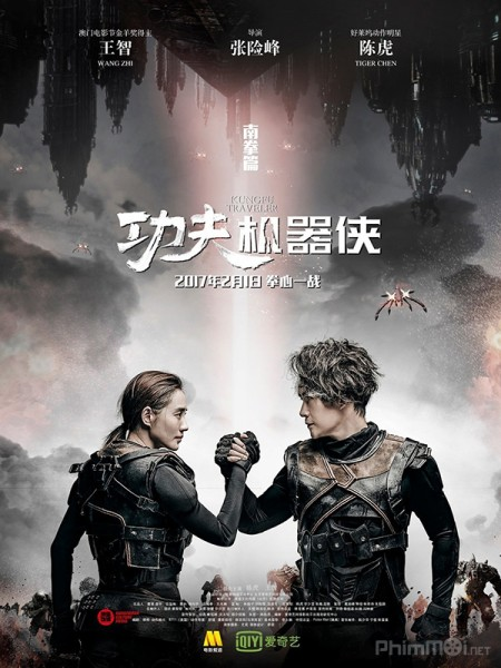 Kung Fu Cơ Khí Hiệp Kung Fu Traveler: Kungfu Cyborg.Diễn Viên: Rick Yune,Bi Rain,Randall Duk Kim,Naomie Harri