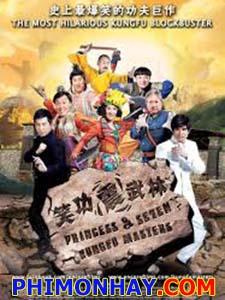 Giang Hồ Thất Quái - Princess And Seven Kung Fu Masters