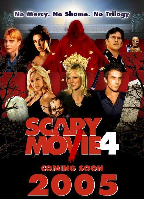 Liên Khúc Phim Kinh Dị 4 Scary Movie 4.Diễn Viên: Anna Faris,Andre Benjamin,Regina Hall,Joanna Krupa,Craig Bierko