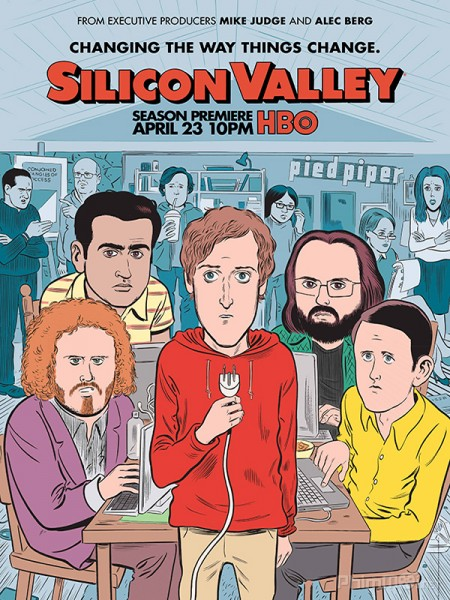 Thung Lũng Silicon Phần 4 Silicon Valley Season 4.Diễn Viên: Johnny Galecki,Jim Parsons,Kaley Cuoco