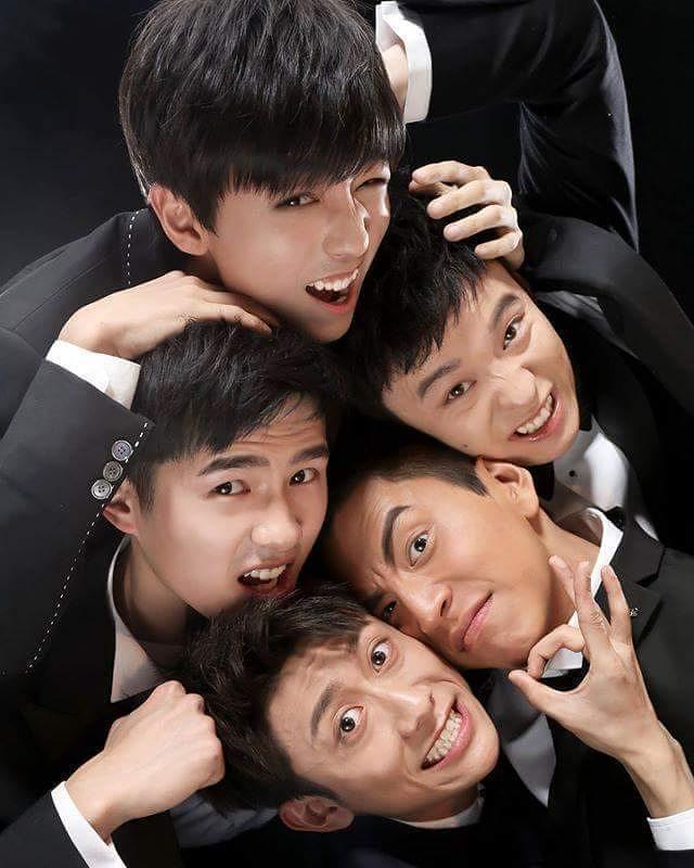 Đoàn Thiếu Niên Năng Lượng Super Boys.Diễn Viên: Vương Đại Lục,Lưu Hạo Nhiên,Trương Nhất Sơn
