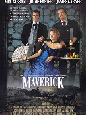 Tay Chơi Siêu Hạng Maverick.Diễn Viên: Mel Gibson,Jodie Foster,James Garner