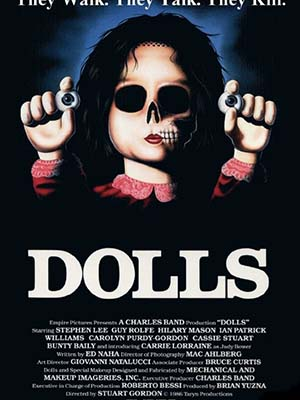 Ma Búp Bê Dolls.Diễn Viên: Ian Patrick Williams,Carolyn Purdy,Gordon,Carrie Lorraine