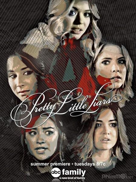 Những Thiên Thần Nói Dối 6 Pretty Little Liars Season 6.Diễn Viên: Troian Bellisario,Ashley Benson,Holly Marie Combs,Lucy Hale,Shay Mitchel