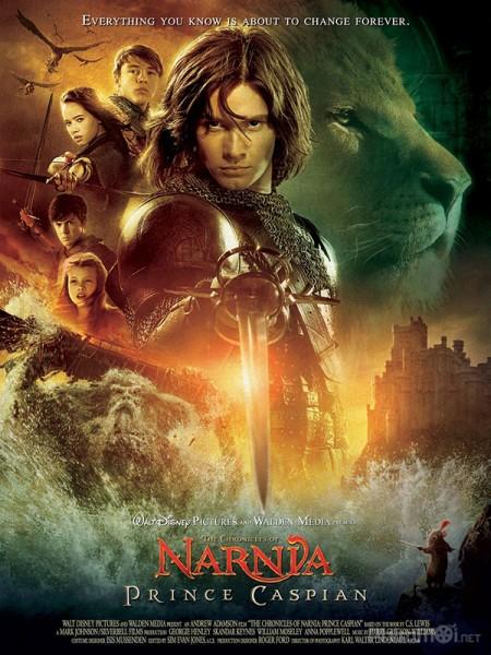 Biên Niên Sử Narnia 2: Hoàng Tử Caspian The Chronicles Of Narnia 2: Prince Caspian.Diễn Viên: Ben Barnes,Skandar Keynes,Georgie Henley