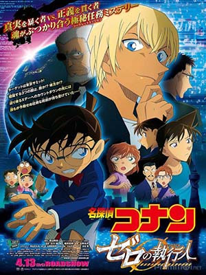 Thám Tử Conan Movie 22: Kẻ Hành Pháp Zero Detective Conan Movie 22: Zero The Enforcer.Diễn Viên: Andrea Riseborough,Essie Davis,Kenneth Branagh