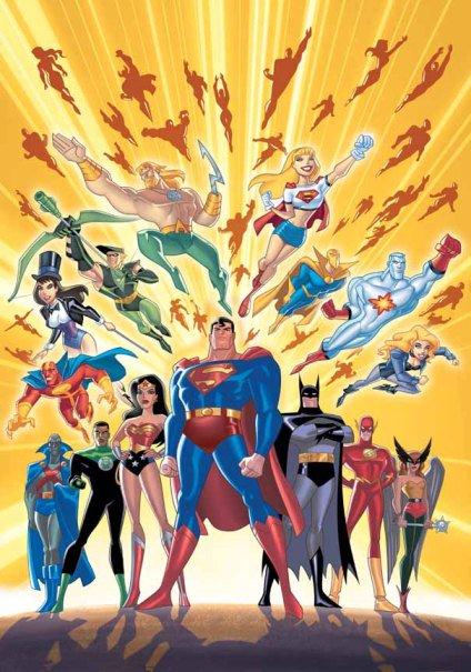 Liên Minh Công Lý 3 Season - Justice League Unlimited