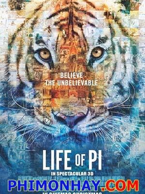Cuộc Đời Của Pi Life Of Pi.Diễn Viên: Suraj Sharma,Irrfan Khan And Adil Hussain