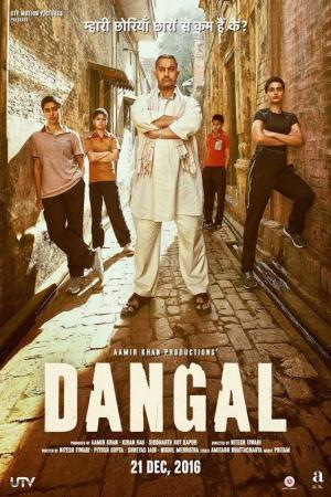 Huấn Luyện Viên Đấu Vật Dangal.Diễn Viên: Aamir Khan,Fatima Sana Shaikh,Sakshi Tanwar