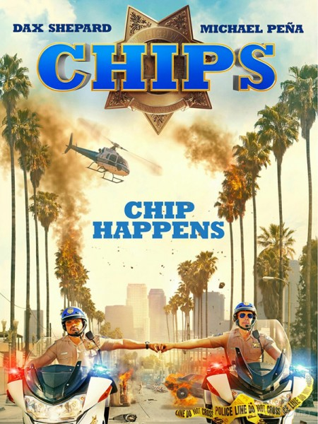 Đội Tuần Tra Chips.Diễn Viên: Kurt Russell,Katheryn Winnick,Jay Baruchel