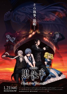 Book Of The Atlantic Kuroshitsuji Movie: Black Butler.Diễn Viên: Hayate The Combat Butler Ova