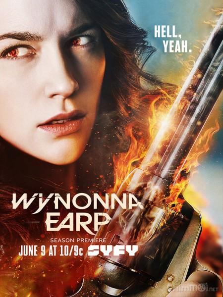 Quý Cô Diệt Quỷ Phần 2 Wynonna Earp Season 2.Diễn Viên: Sarah Wayne Callies,Josh Holloway,Peter Jacobson,Isabella Crovetti