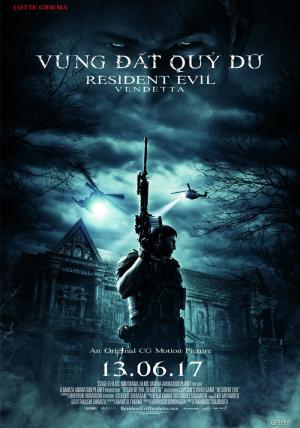 Vùng Đất Quỷ Dữ: Nợ Máu Resident Evil: Vendetta.Diễn Viên: Erin Cahill,Orion Acaba,Darin De Paul