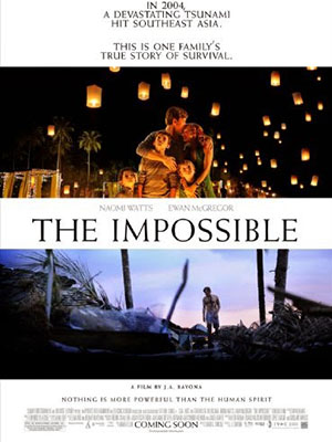 Thảm Hoạ Sóng Thần The Impossible.Diễn Viên: Naomi Watts,Ewan Mcgregor And Tom Holland