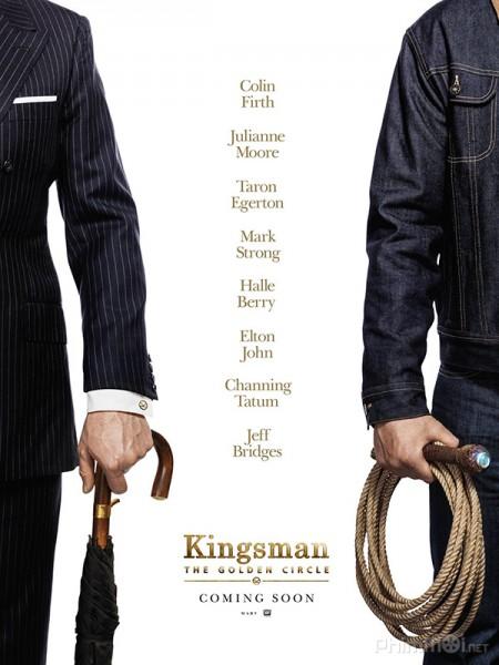Mật Vụ Kingsman 2: Tổ Chức Hoàng Kim Kingsman 2: The Golden Circle.Diễn Viên: Emma Watson,Karen Gillan,Bill Paxton,Ellar Coltrane