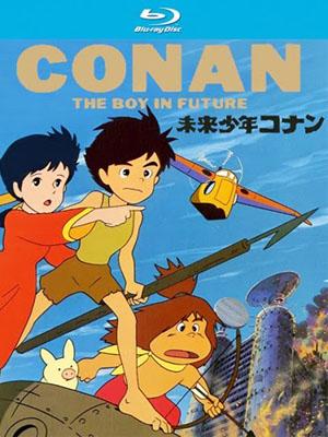 Conan Cậu Bé Tương Lai Future Boy Conan.Diễn Viên: Zach Callison,Deedee Magno,Estelle