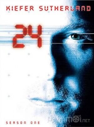 24 Giờ Chống Khủng Bố Phần 1 24 Giờ Sinh Tử: 24 Season 1.Diễn Viên: Bob Gunton,Cherry Jones,Kiefer Sutherland