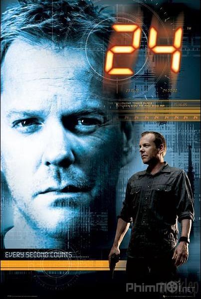 24 Giờ Chống Khủng Bố Phần 2 24 Giờ Sinh Tử: 24 Season 2.Diễn Viên: Bob Gunton,Cherry Jones,Kiefer Sutherland